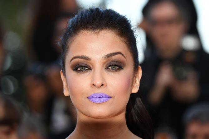 Aishwarya Purple lips