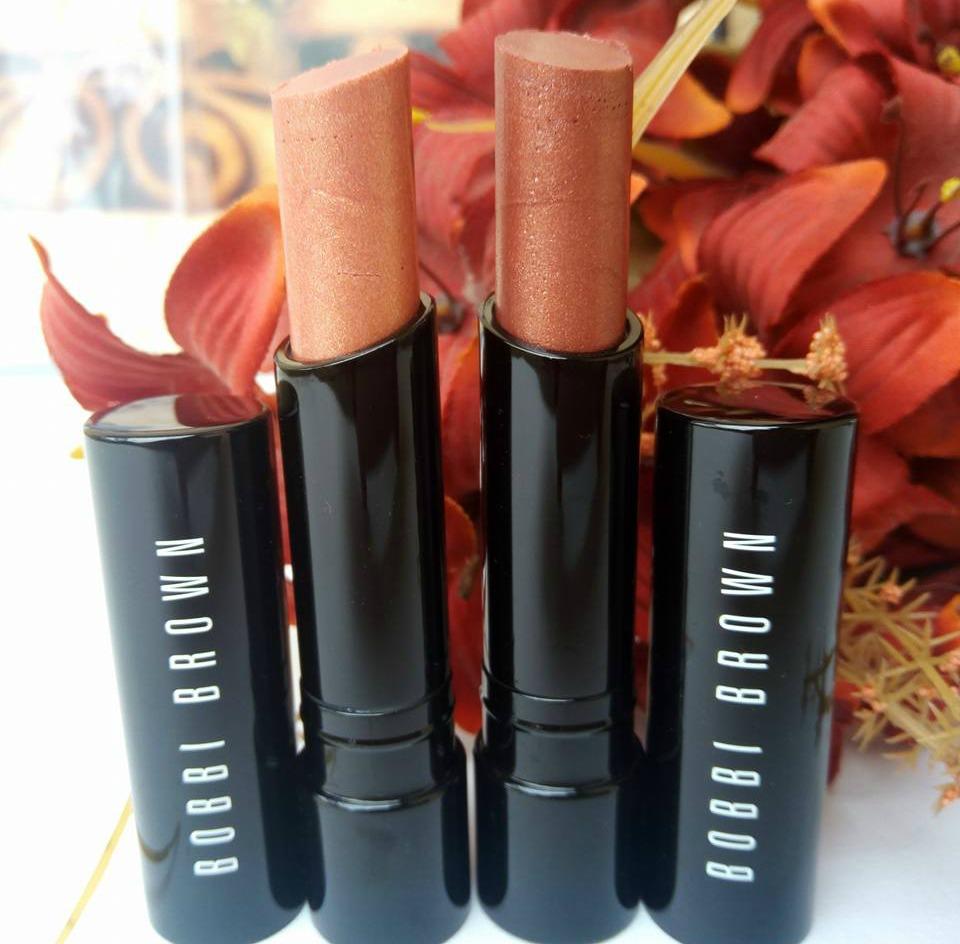 Bobbi Brown Beach Nudes Collection Sheer Lip Color Boho Bronze & Pink Gold