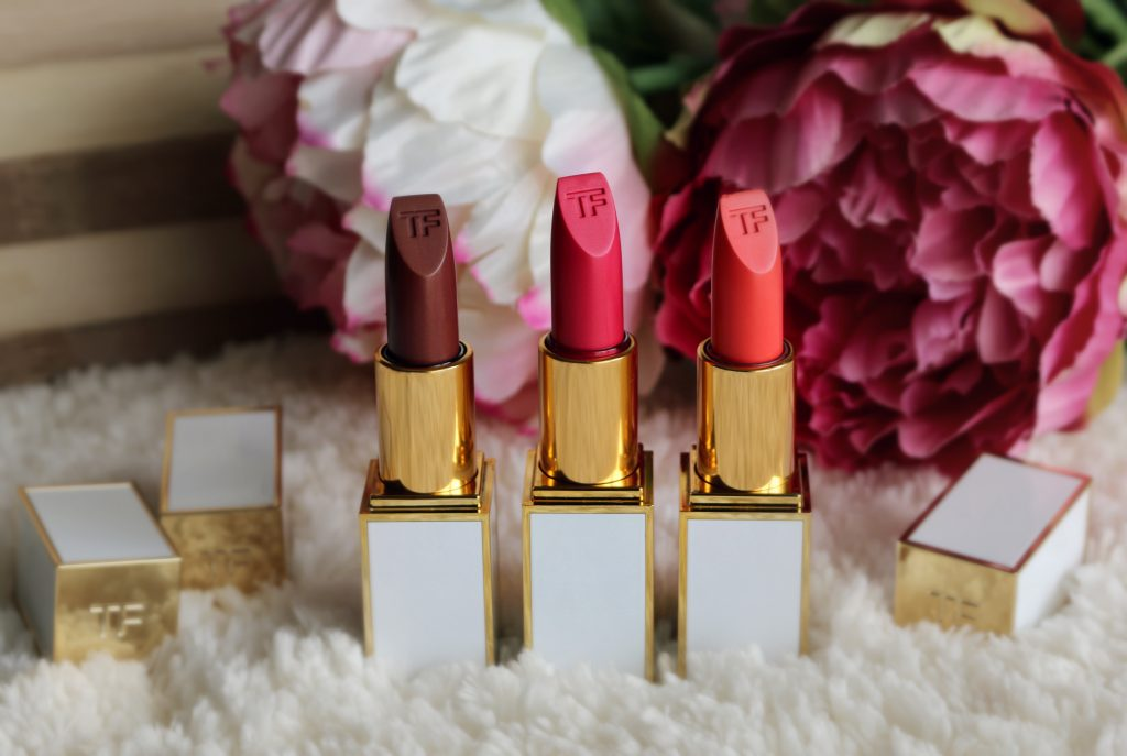 Tom Ford Soleil Collection Ultra-rich Lip Colors - Temptation Waits, Aphrodite, Solar Affair