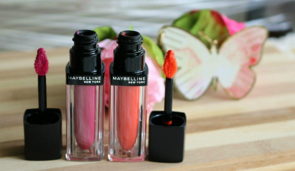 Maybelline Color Sensational Velvet Matte Lipstick - MAT5, MAT10