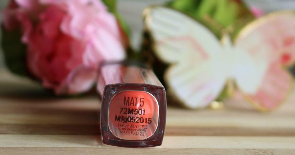 Maybelline Colorsensational Velvet Matte - MAT5