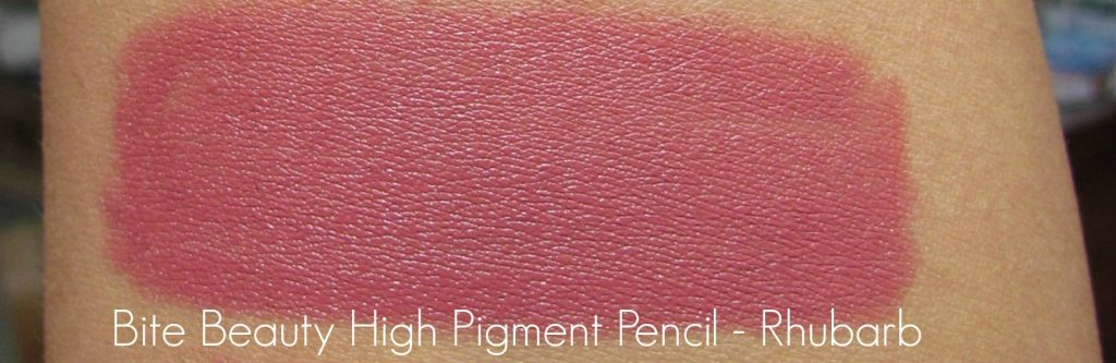 Bite Beauty Rhubarb High Pigment Lip Pencil.