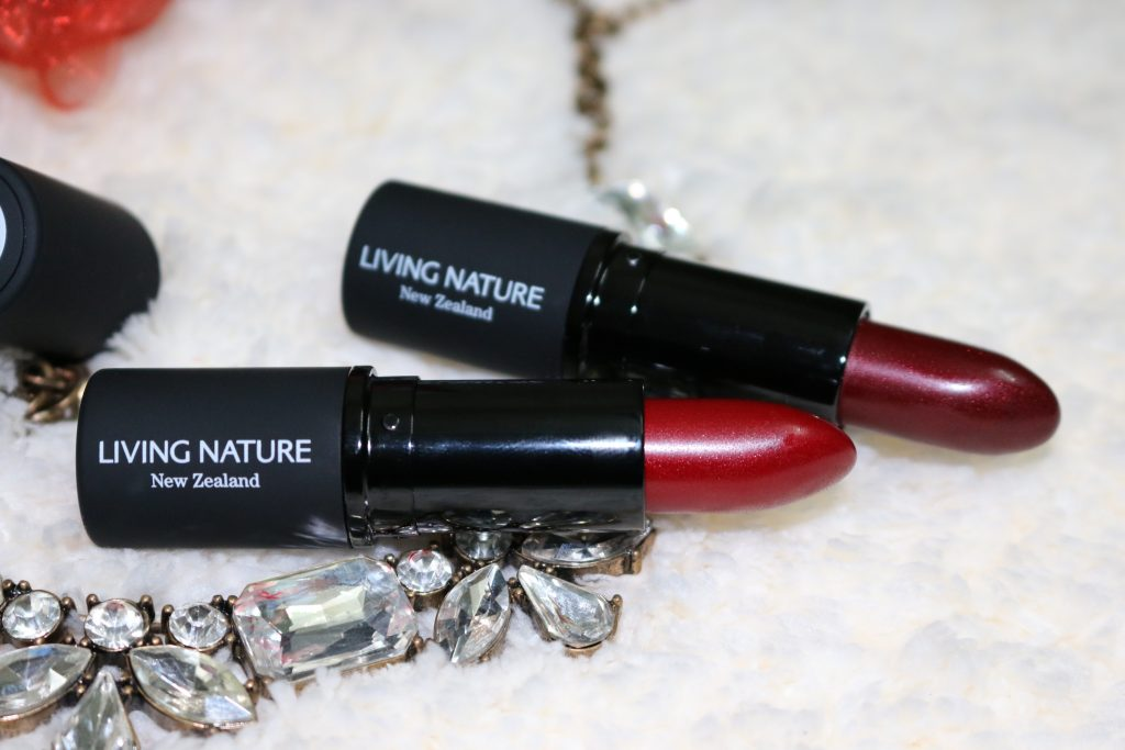 Living Nature Organic Lipstick - Wild Fire, Pure Passion | Review