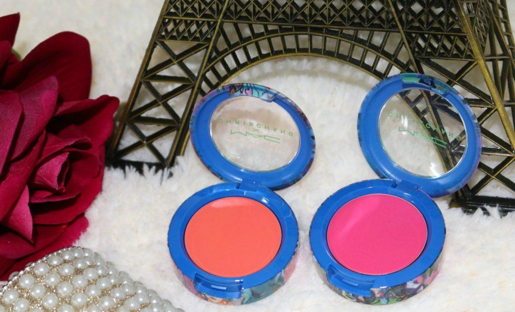 MAC x Chris Chang Cream Colour Bases - Rich Coral, Peony Pavillion review