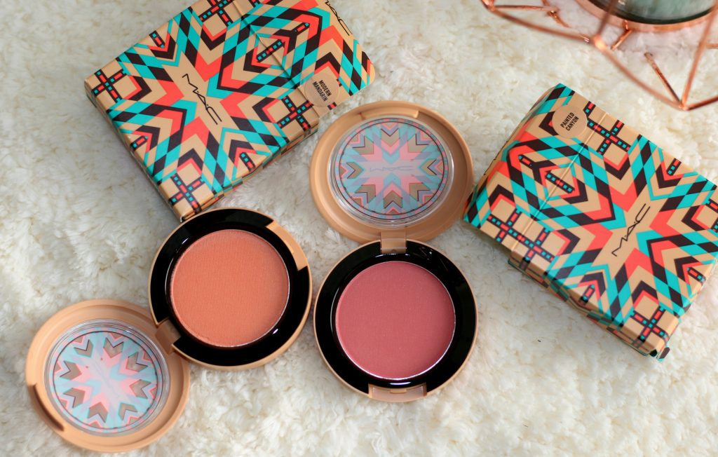 mac vibe tribe collection blush review