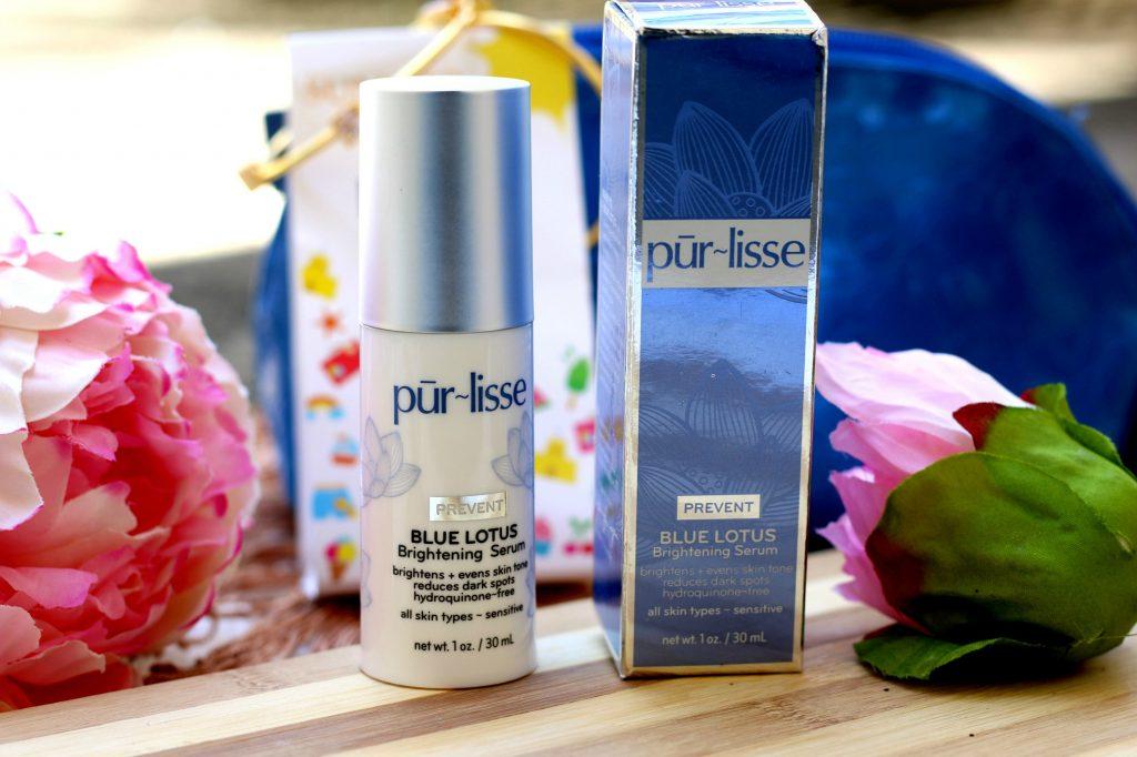 pur~lisse Blue Lotus Brightening Serum review