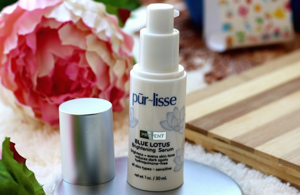pur~lisse Blue Lotus Brightening Serum