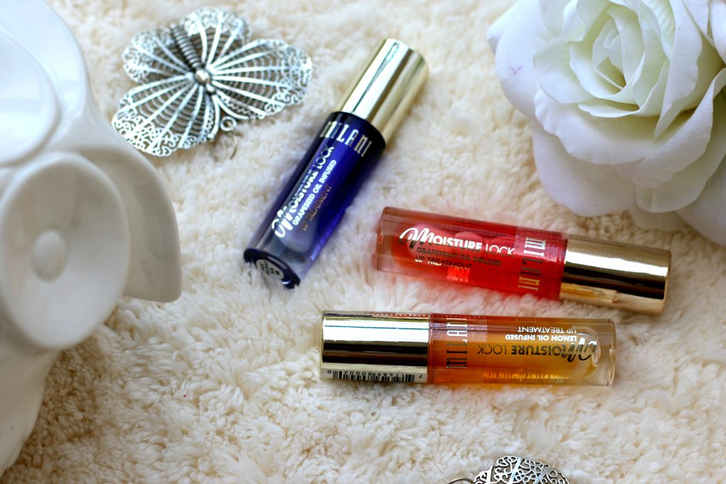 Milani Moisture Lock Oil Infused Lip Treatment Oils