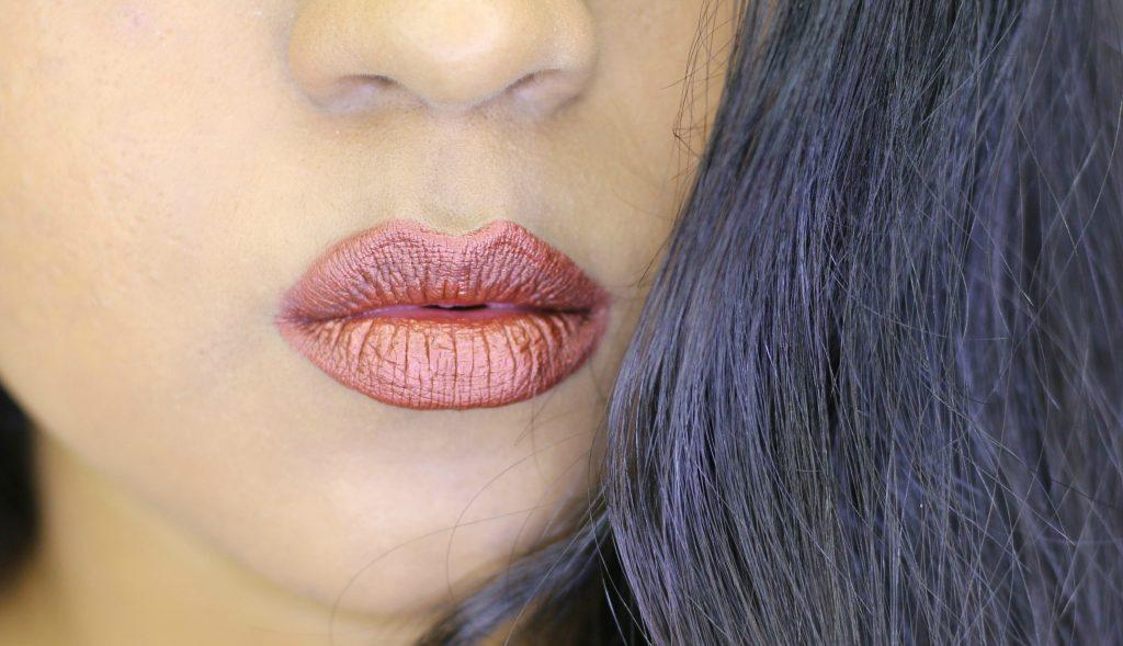 Milani Amore Matte Metallic Lip Crème 02 Matterialistic review