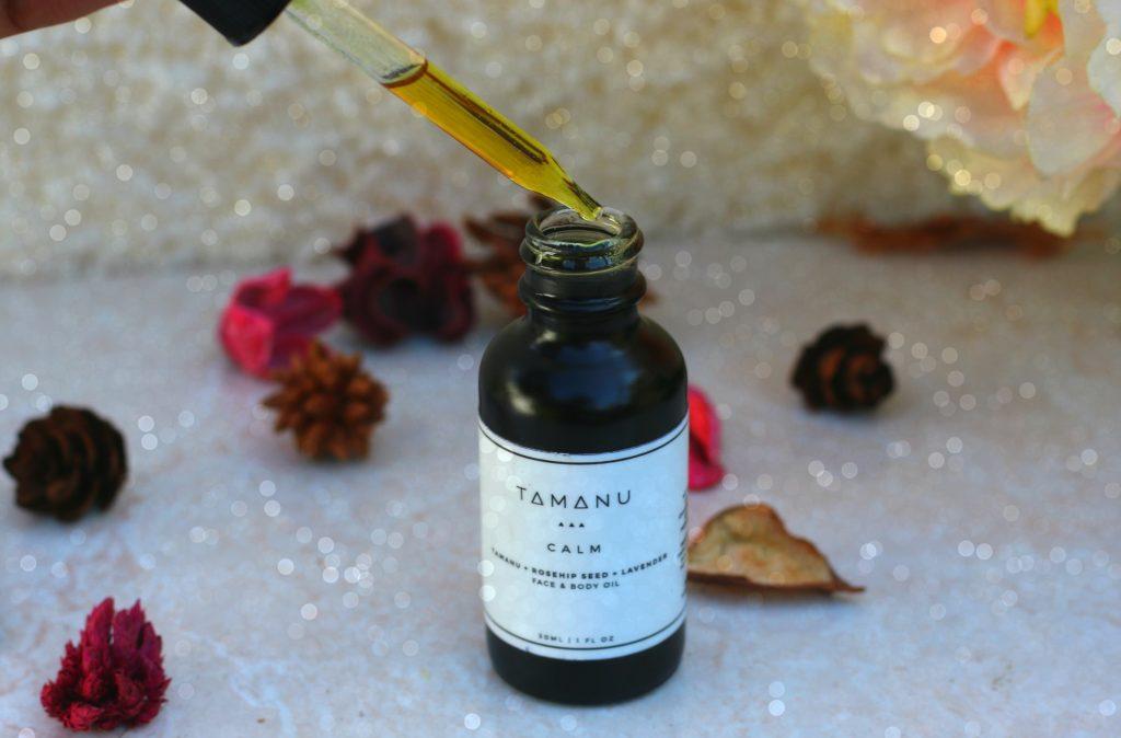 tamanu calm facial oil blend