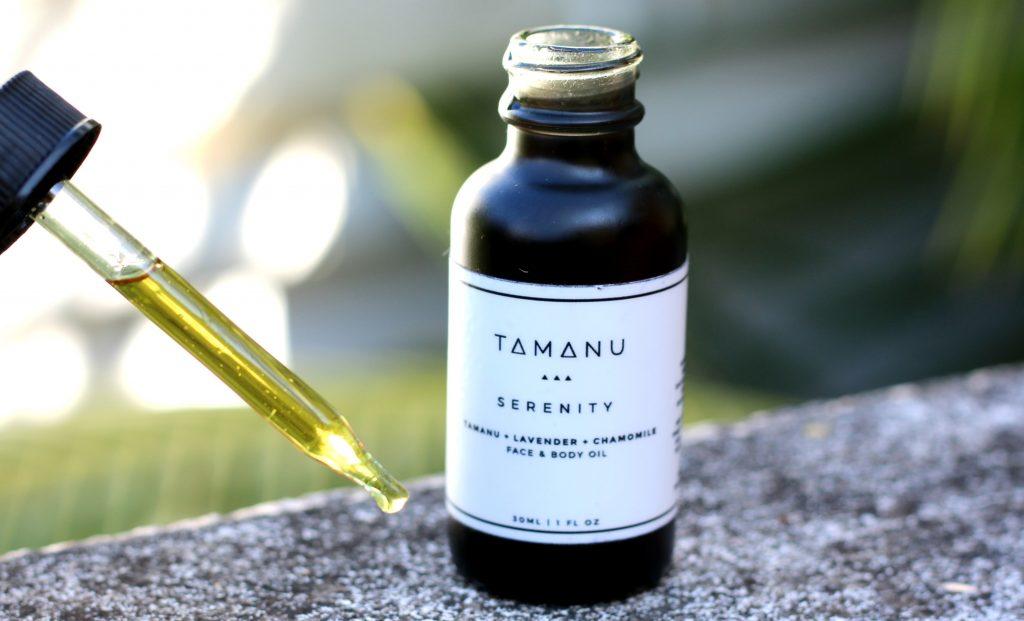 tamanu oil lab Serenity oil