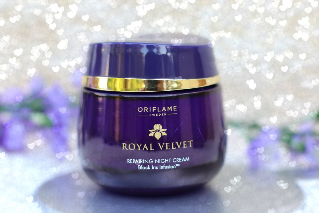 oriflame royal velvet repairing night cream review