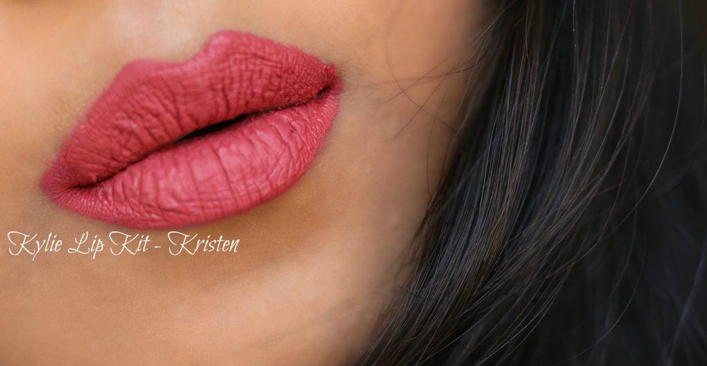 Kylie Cosmetics Kristen Lip Kit Lip Swatch