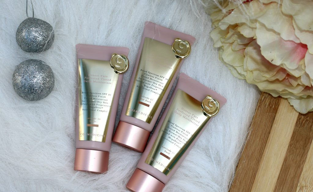 Honest Face® Perfected Tinted Moisturizer : Shades - Light, Dark, Med Dark review