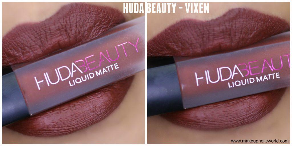 huda beauty vixen review
