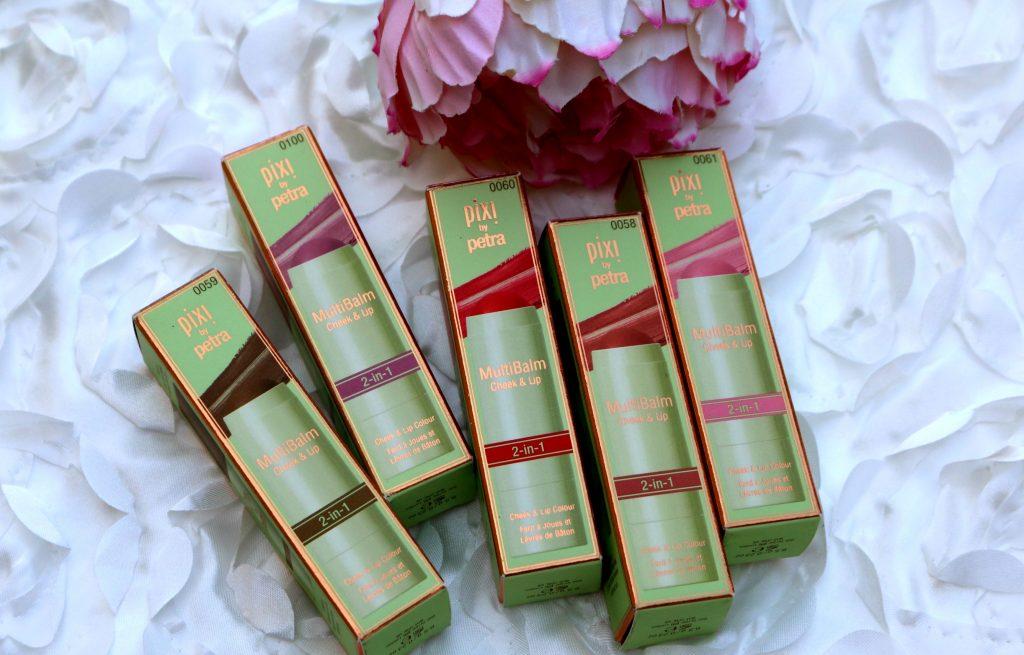 pixi multi balm sheer sculpt,pixi multi balm Soft Strawberry, pixi multi balm Baby Petal, pixi multi balm Wild Rose, pixi multi balm Watermelon Veil