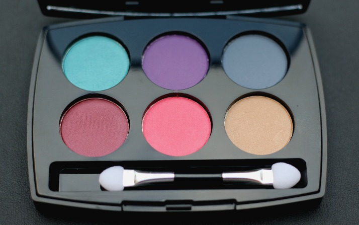 Lakmé Illuminating Eyeshadow Palette - Royal Persia swatches and review
