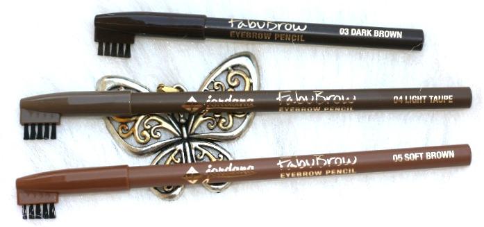 Jordana Cosmetics Fabubrow Eyebrow Pencil review
