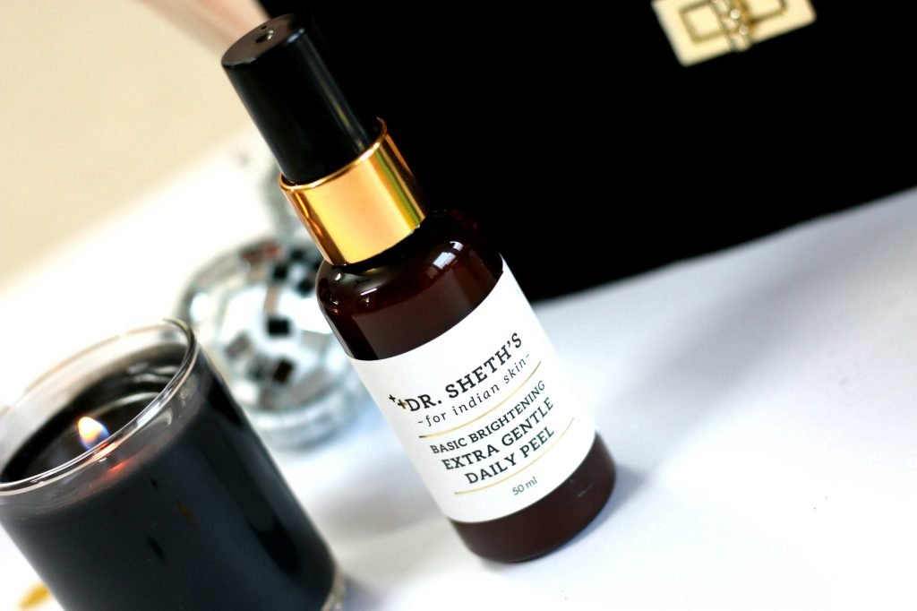 Dr. Sheth's Basic Brightening Extra Gentle Daily Peel - INR 850/50ML