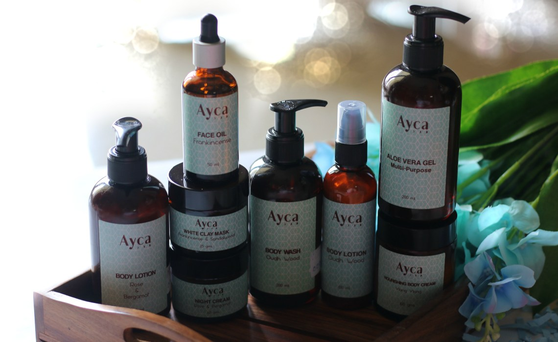 Luxury Natural, Paraben-Free Bath and Wellness Products From Ayca