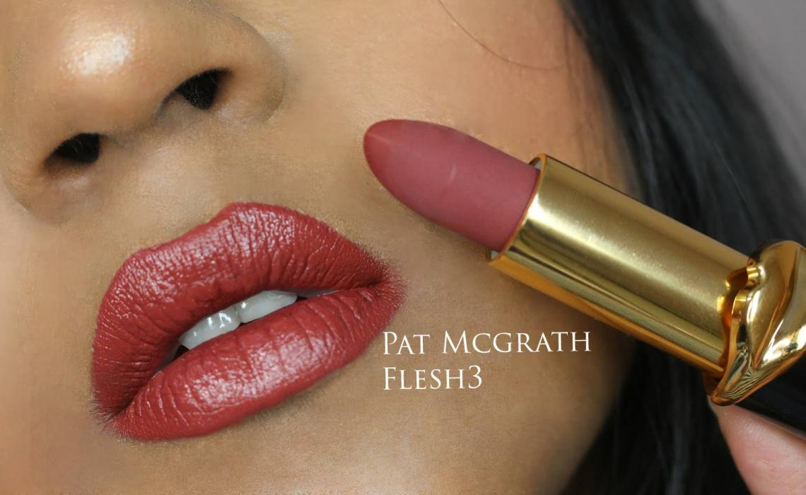 Pat McGrath MatteTrance Lipsticks – Elson, Flesh 3, Mc Menamy, Omi | Swatches And Review