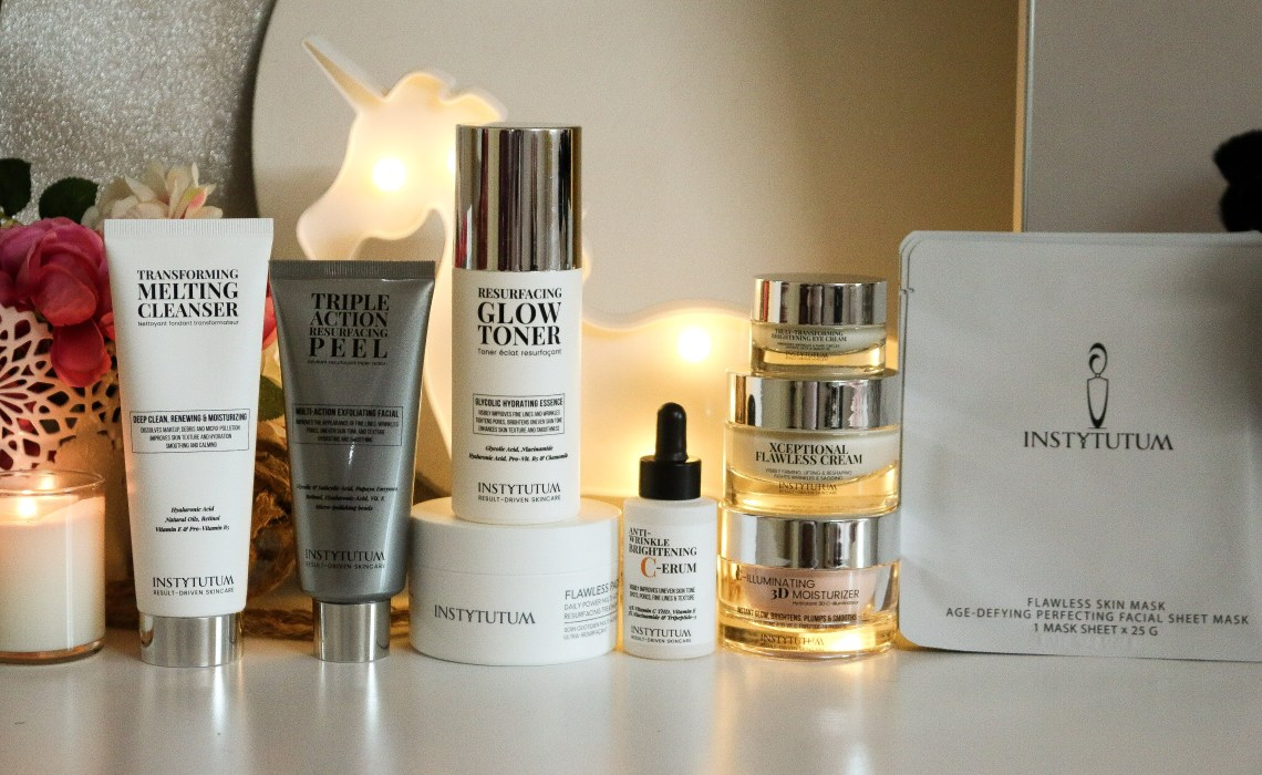 INSTYTUTUM Skincare in a superpacked formula and a improved packaging!
