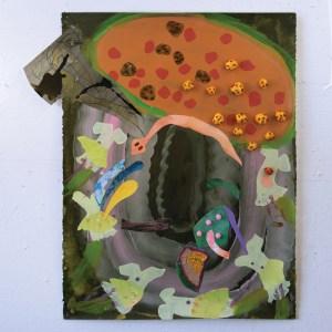 acrylic collage