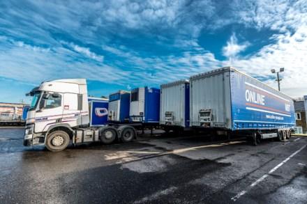 Krone trailer