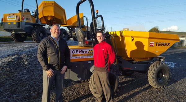 Terex distributor rolls out record-breaking sales contract