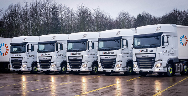 Culina prioritise driver conditions with new DAF Fleet acquisitions