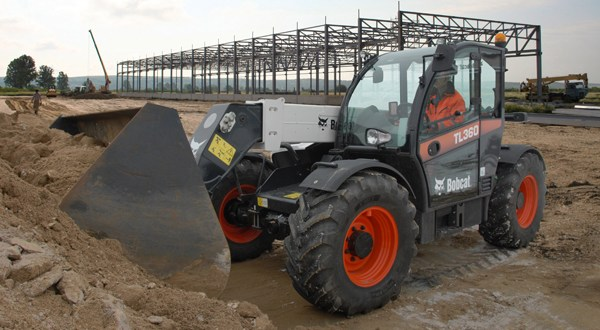 New standard 3 year warranty for Bobcat Telehandlers