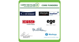 Core funder support enables Carpet Recycling UK to exceed 2015 goal