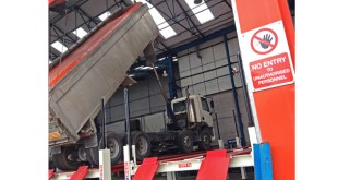 Stertil Koni replaces vehicle lifts damaged in storm