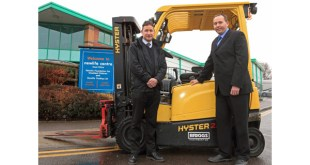 Forklifts from Briggs boost charity's recycling initiative