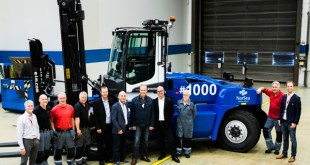 Cargotec: Kalmar celebrates delivery of 1000th G-generation forklift