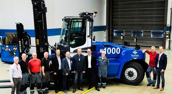 Cargotec: Kalmar celebrates delivery of 1000th G-generation forklift