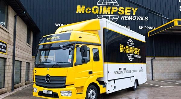 Mercedes-Benz Atego crew cab cuts a dash for McGimpsey