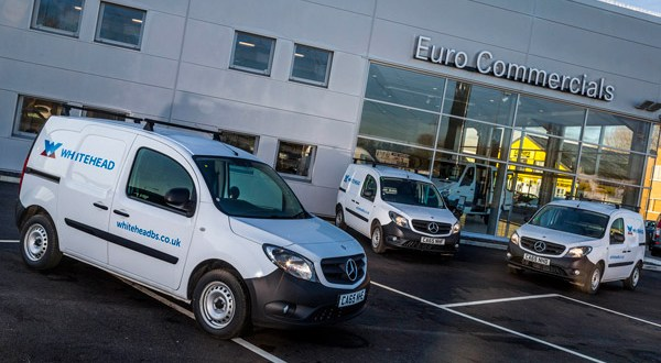 Whitehead builds with Mercedes-Benz Citan fleet from Euro Commercials