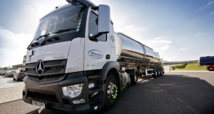 Wincanton's new electric tankers revolutionise dairy distribution