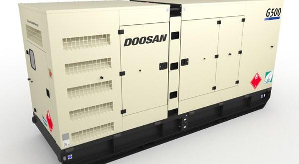 New Doosan Portable Power G400-IIIA and G500-IIIA Generators