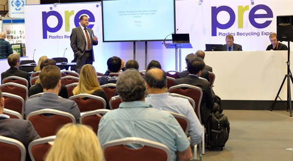 Hewlett-Packard and Procter & Gamble among 40 plus organisations sharing plastics recycling vision at Plastics Recycling Show Europe