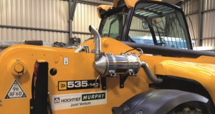 J. Murphy & Sons Limited leads the way to cleaner air with innovative diesel filter system