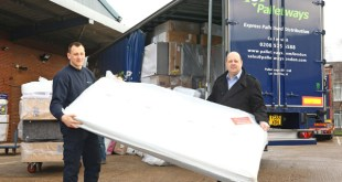 Palletways London goes the extra mile to help York flood victims