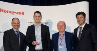 Renovotec wins Honeywell partner of the year award, Europe and Russia