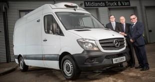 Freezerent celebrates a Mercedes-Benz milestone
