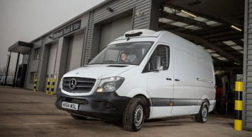 Freezerents 100th refrigerated Mercedez-Benz Sprinter
