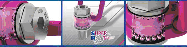 NEW ICE-LBG-SR Safety Turning & Rotating under Full Load without Chance of Bolt Opening