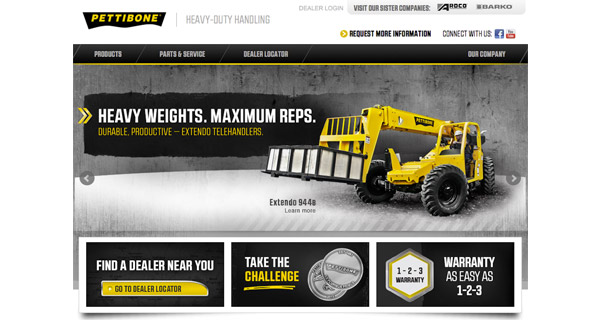 Pettibone launches new website