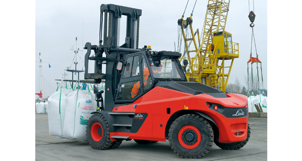 Linde Material Handling launches new heavy truck series