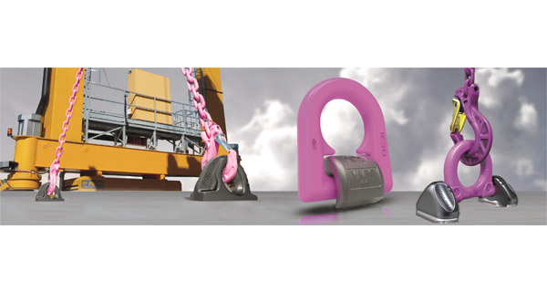 RUD ABA / L-ABA weldable lifting & lashing point